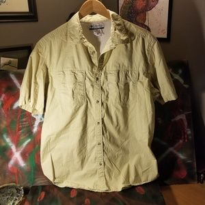 Columbia Vented Shirt hiking fishing large